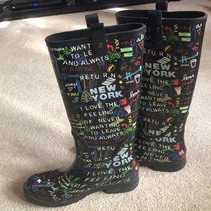 DKNY Niagara  rain boots